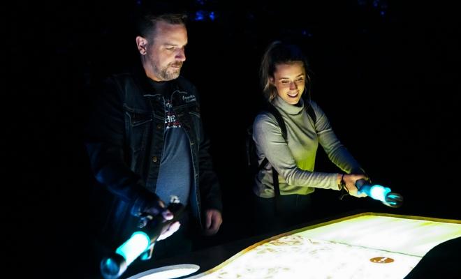 Parcours illuminé au Québec, circuit interactif en Mauricie