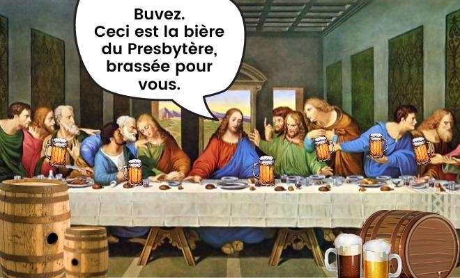 Microbrasserie Le Presbytère en Mauricie, bières de microbrasserie en Mauricie