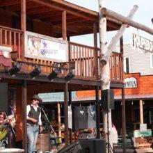 Activités durant le festival western de st-tite