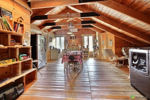 Gîte Comme un Accord domaine et villa St-Mathieu intérieur